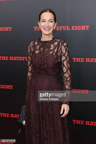 Fashion designer Cynthia Rowley attends the The New York premiere Of 'The Hateful Eight' on December 14 2015 in New York City