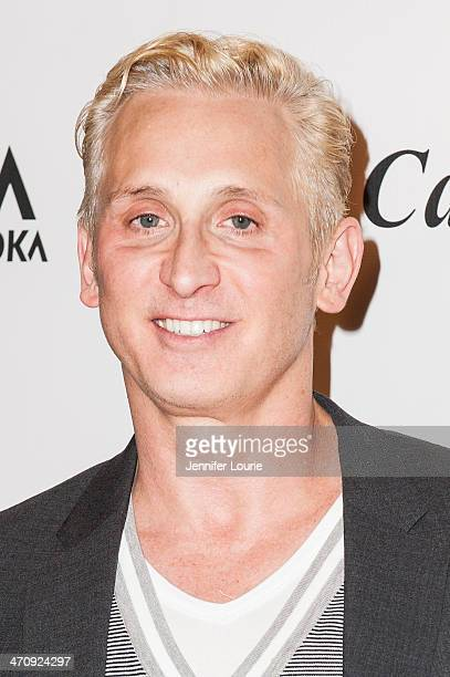 Fashion designer David Meister attends Genlux Magazine's celebration of their new issue featuring Katheryn Winnick of Vikings at the Luxe Hotel on...