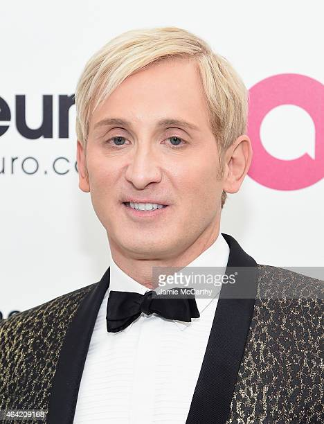 Fashion designer David Meister attends the 23rd Annual Elton John AIDS Foundation Academy Awards Viewing Party on February 22 2015 in Los Angeles...