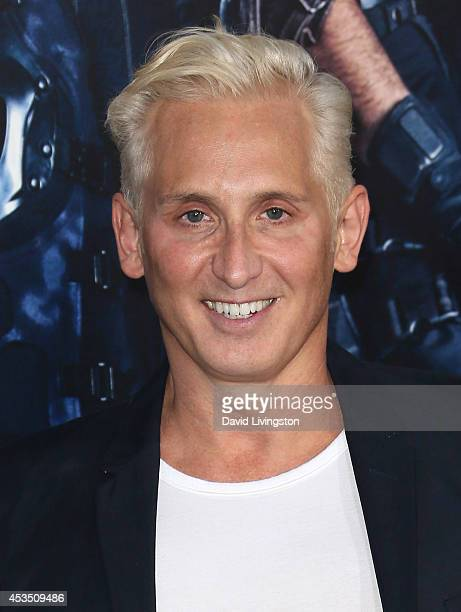 Fashion designer David Meister attends the premiere of Lionsgate Films' The Expendables 3 at the TCL Chinese Theatre on August 11 2014 in Hollywood...