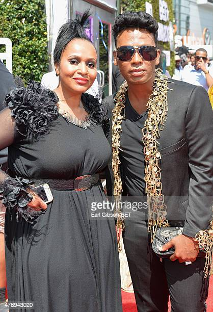 Fashion designer David Tlale attends the 2015 BET Awards at the Microsoft Theater on June 28 2015 in Los Angeles California