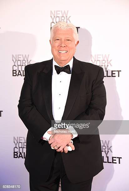 Fashion designer Dennis Basso attends New York City Ballet's Spring Gala at David H Koch Theater at Lincoln Center on May 4 2016 in New York City