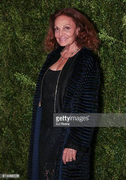 Fashion designer Diane von Furstenber attends the 'Franca Chaos and Creation' New York Screening at Metrograph on October 13 2016 in New York City