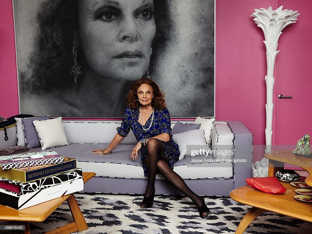 Diane von Furstenberg, Madame Figaro, October 31, 2014