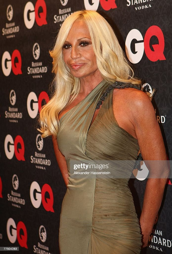 Fashion Designer Donatella Versace Arrives For The Gq Men Of The Year News Photo Getty Images