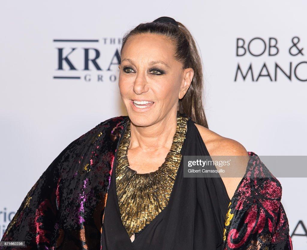 Fashion Designer Donna Karan Attends Elton John Aids Foundation News Photo Getty Images