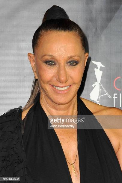 Fashion designer Donna Karan attends the 4th Annual CineFashion Film Awards at El Capitan Theatre on October 8 2017 in Los Angeles California