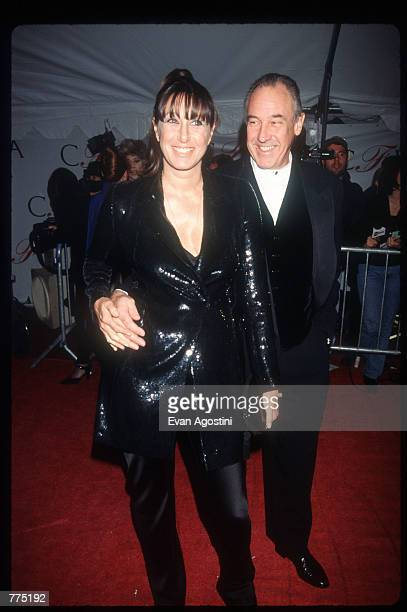 Fashion designer Donna Karan attends the Council of Fashion Designers of America awards February 12 1996 in New York City Since 1981 the CFDA has...
