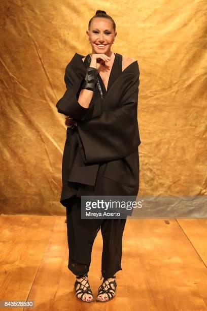 Fashion Designer Donna Karan attends the Urban Zen NYFW Presentation at Urban Zen on September 6 2017 in New York City