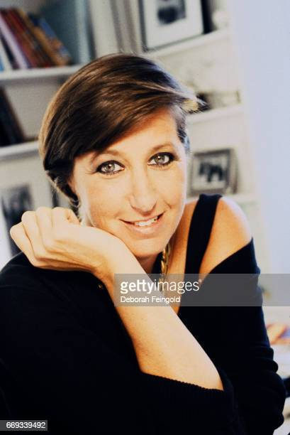 Fashion designer Donna Karan poses for a portrait in 1991 in New York City New York