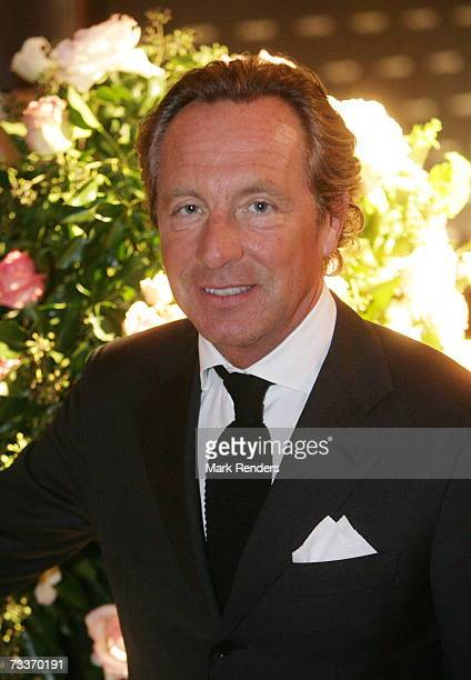 Fashion designer Edouard Vermuelen of the house of Natan attends the Lancome Color Designs Awards on February 19, 2007 in Brussels, Belgium.