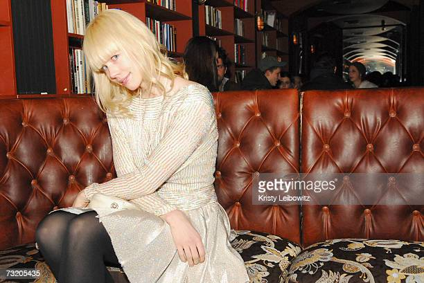 Fashion designer Erin Fetherston and Jalouse Magazine host party at Bella on February 4 2007 in New York