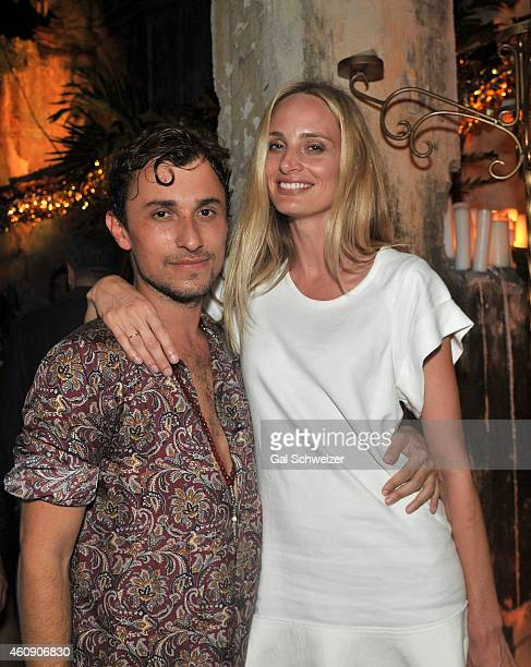 Fashion designer Esteban Cortazar and Lauren Santo Domingo during the Pre New Year´s Affair in celebration of the Opening of W Bogotá held at Casa de...