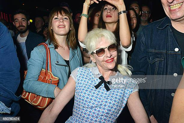 Fashion designer Fifi Chachnil attends the 'Oui Oui' Concert Party' At The Bus Palladium on June 7 2014 in Paris France