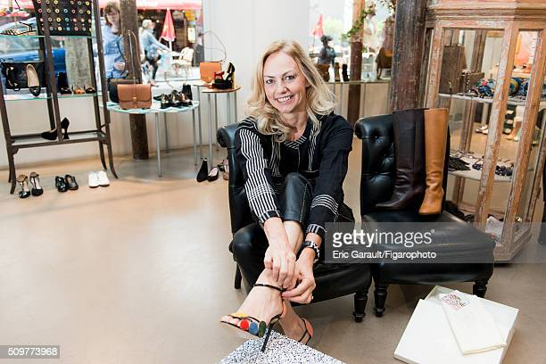 Fashion designer for Antik Batik Gabriella Cortese is photographed for Madame Figaro on July 8 2015 in Paris France PUBLISHED IMAGE CREDIT MUST READ...