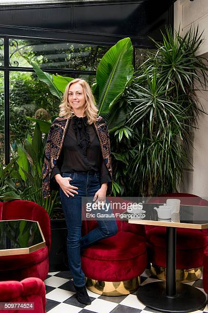 Fashion designer for Antik Batik Gabriella Cortese is photographed for Madame Figaro on July 8 2015 in Paris France PUBLISHED IMAGE CREDIT MUST READ...