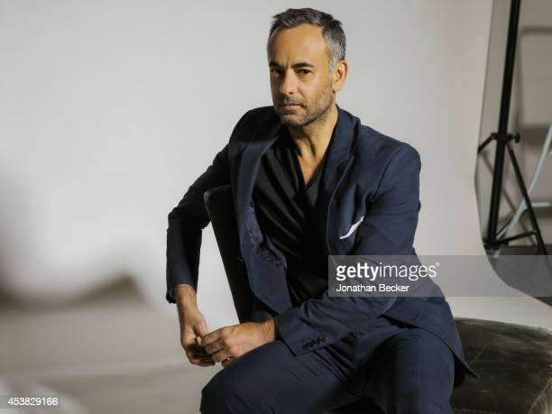 Fashion designer for Calvin Klein Francisco Costa is photographed for Vanity Fair Spain on July 11 2013 in New York City PUBLISHED IMAGE