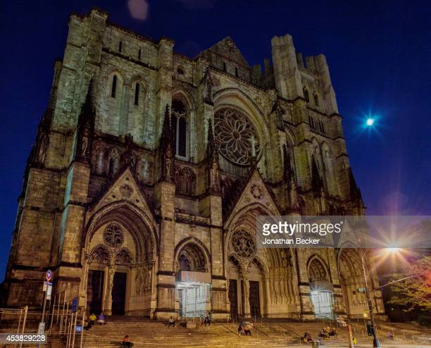 Fashion designer for Calvin Klein Francisco Costa's favorite church St John the Divine is photographed for Vanity Fair Spain on July 11 2013 in New...