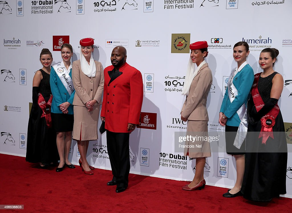 Fashion Designer Franklin Eugene At The Dubai International Film Festival