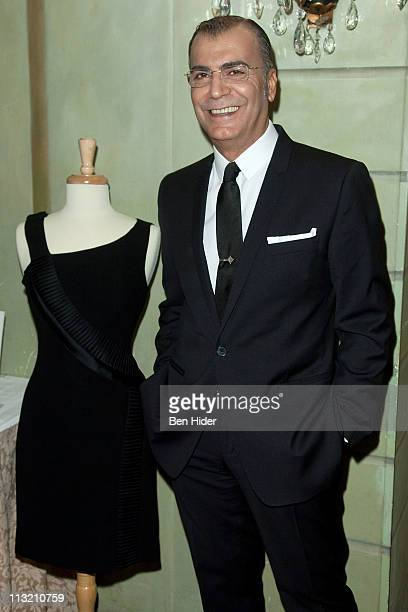 Fashion Designer Georges Chakra attends the Beth Israel Medical Center St Luke's and Roosevelt Hospital's annual Breast Services luncheon at Grand...