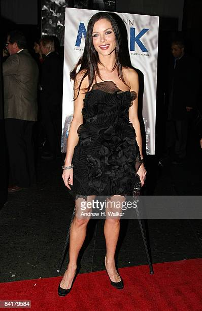 Fashion designer Georgina Chapman attends the 2008 New York Film Critic's Circle Awards at Strata on January 5 2009 in New York City