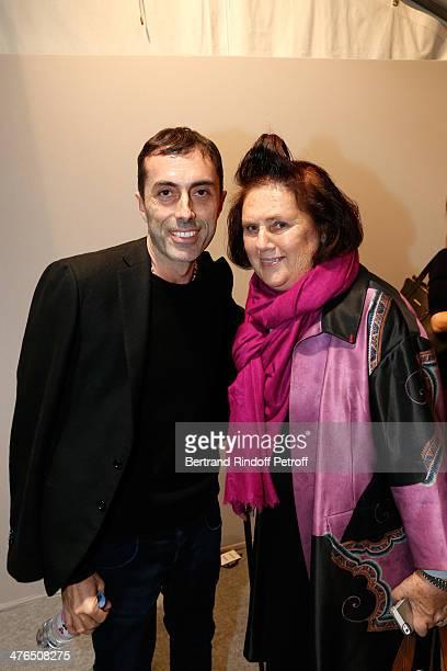 Fashion designer Giambattista Valli and journalist Suzy Menkes, she leaves The International Herald Tribune to become International Vogue Editor at...