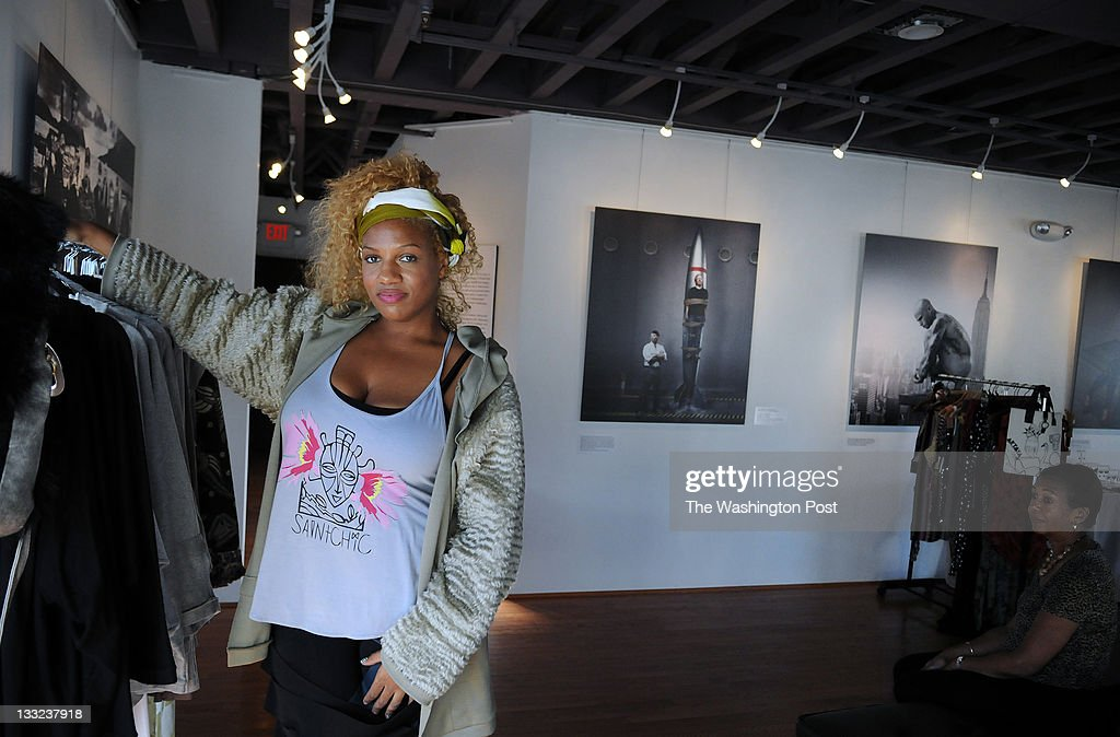 C October 16 2011 Fashion Designer Gingie Mcleod Who Designs News Photo Getty Images