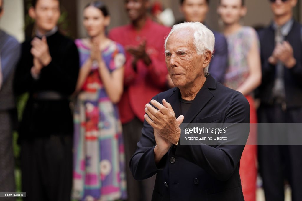Giorgio Armani - Runway - Milan Men's Fashion Week Spring/Summer 2020 : News Photo