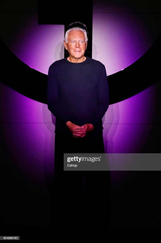 Giorgio Armani - Runway - Milan Fashion Week Fall/Winter 2018/19