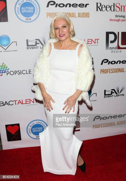 Fashion Designer Gordana Gehlhausen attends the Gifting Your Spectrum gala benefiting Autism Speaks on February 24 2018 in Hollywood California