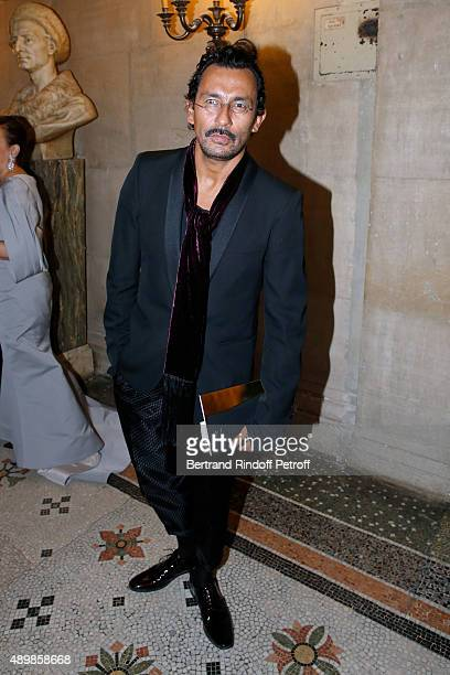 Fashion Designer Haider Ackermann attend the Ballet National de Paris Opening Season Gala at Opera Garnier on September 24 2015 in Paris France