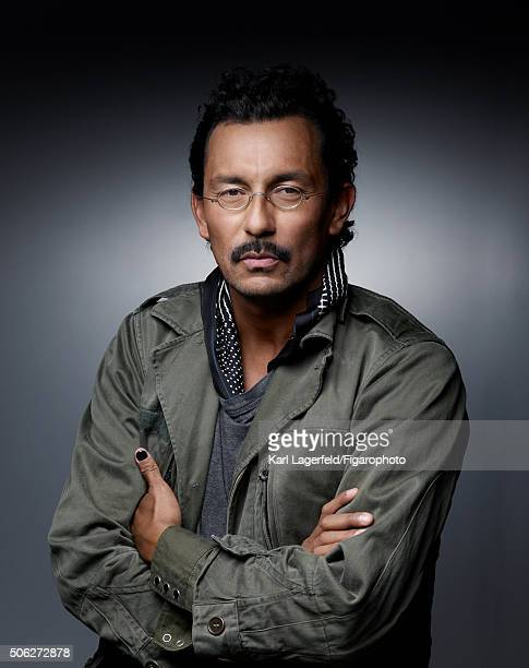 Fashion designer Haider Ackermann is photographed for Madame Figaro on November 18 2015 in Paris France PUBLISHED IMAGE CREDIT MUST READ Karl...