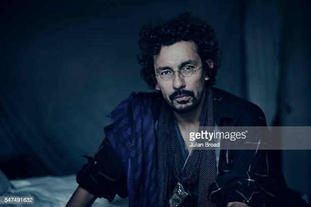 Fashion designer Haider Ackermann is photographed for Variety magazine on November 8 2014 in London England