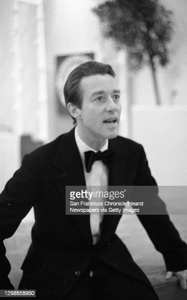 Fashion designer Halston, March 7, 1975