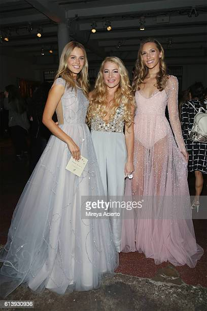 Fashion designer Hayley Paige attends the Martha Stewart Weddings Bridal Market party at Hudson Mercantile on October 10 2016 in New York City