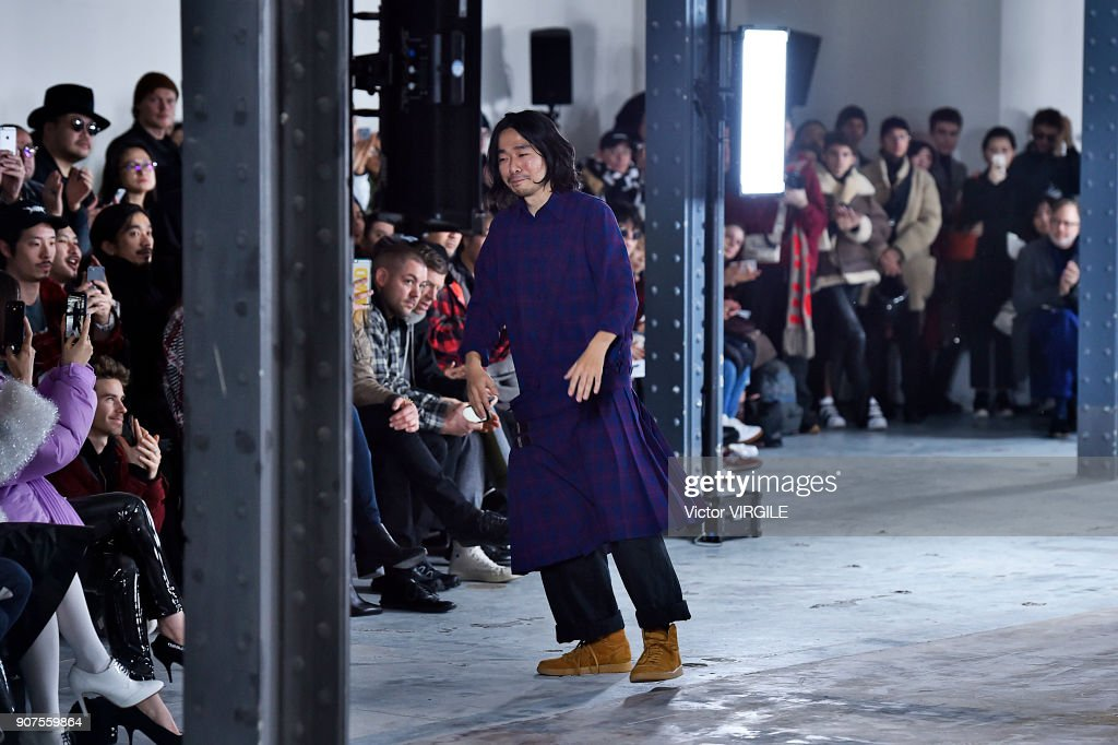 Facetasm : Runway - Paris Fashion Week - Menswear F/W 2018-2019 : News Photo