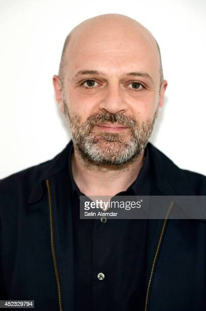 Fashion designer Hussein Chalayan is photographed on June 13 2014 in Istanbul Turkey
