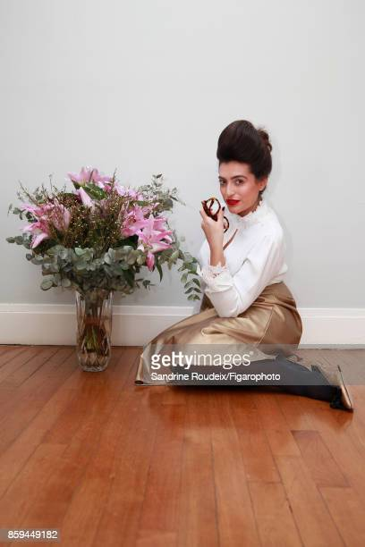 Fashion designer Ines Olympe Mercadal is photographed for Madame Figaro on February 7 2017 in Paris France PUBLISHED IMAGE CREDIT MUST READ Sandrine...