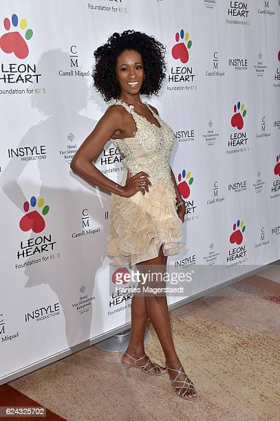 Fashion designer Iracema Scharf during the charity dinner hosted by the Leon Heart Foundation at Hotel Vier Jahreszeiten on November 18 2016 in...