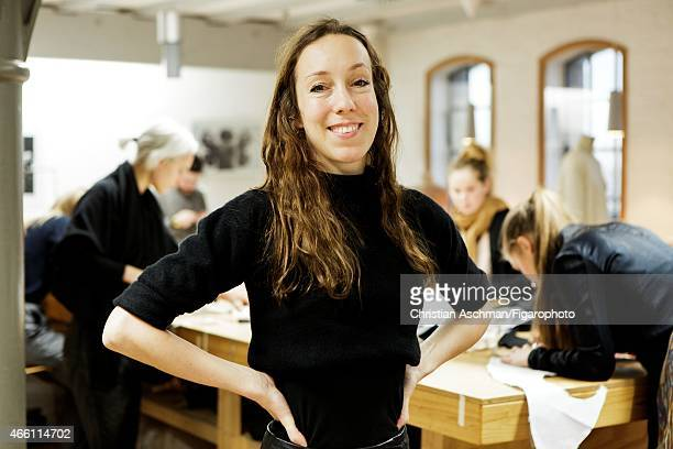 Fashion designer Iris Van Herpen is photographed for Madame Figaro on January 9 2015 in Amsterdam Netherlands CREDIT MUST READ Christian...