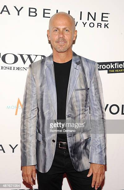 Fashion designer Italo Zucchelli attends The Daily Front Row's Third Annual Fashion Media Awards at the Park Hyatt New York on September 10 2015 in...