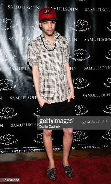 Fashion designer Jason Christopher Peters attends the Samuelsohn Brand 90th Anniversary Party on July 21 2013 in New York United States