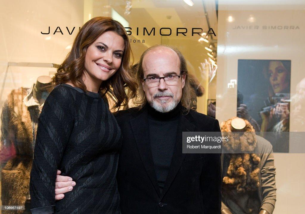 Maria Jose Suarez Attends 'Javier Simorra' Opening Shop