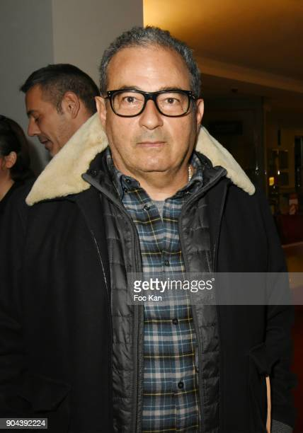 C fashion designer Jean Touitou attends 'Sous le Ciel Carte Blanche A Leandro Erlich' Installation Preview at Le Bon Marche Rive Gauche on January 12...