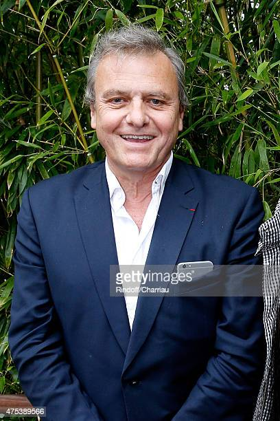 Fashion Designer JeanCharles de Castelbajac attends the 2015 Roland Garros French Tennis Open Day Eight on May 31 2015 in Paris France