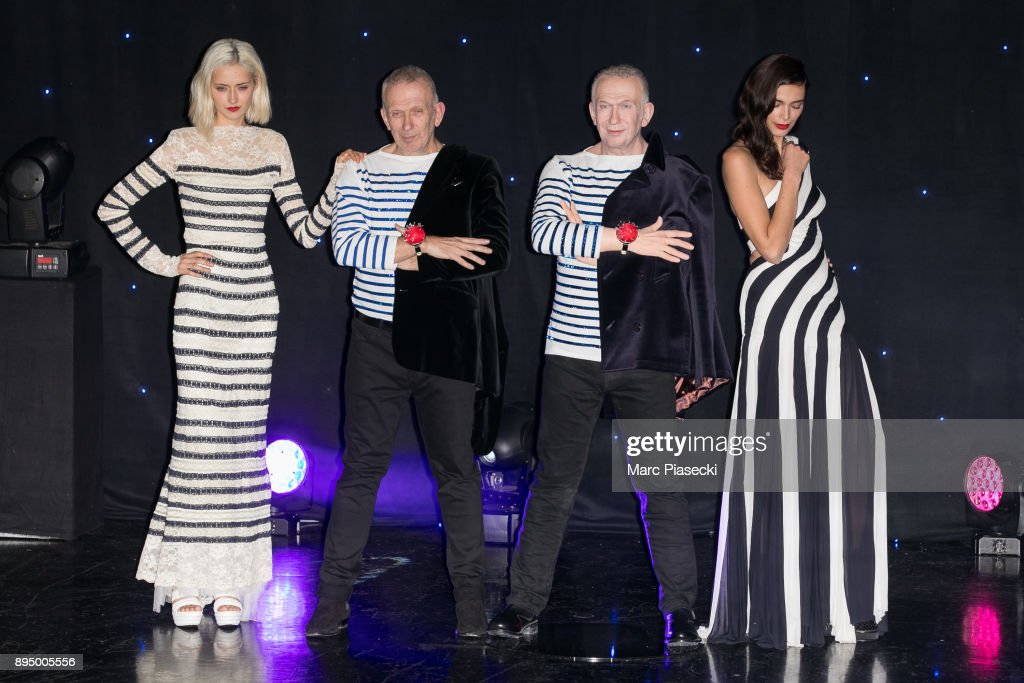 Designer Jean-Paul Gaultier Wax Work Unveiling At Musee Grevin In Paris