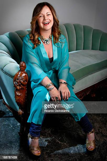 Fashion designer Jennifer Nicholson is photographed for Los Angeles Times on April 9 2013 in Venice California PUBLISHED IMAGE CREDIT MUST READ...