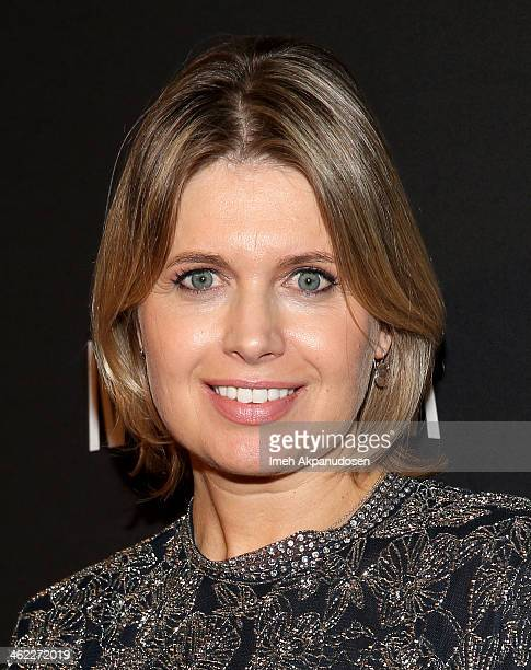 Fashion designer Jenny Packham attends The Weinstein Company Netflix's 2014 Golden Globes After Party presented by Bombardier FIJI Water Lexus Laura...