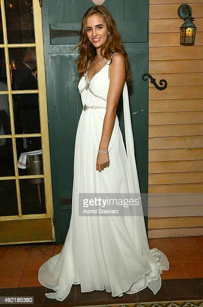 Fashion designer Jenny Packham premieres her Wonder by Jenny Packham collection exclusively for Davids Bridal at the Waverly Inn on October 10 2015...