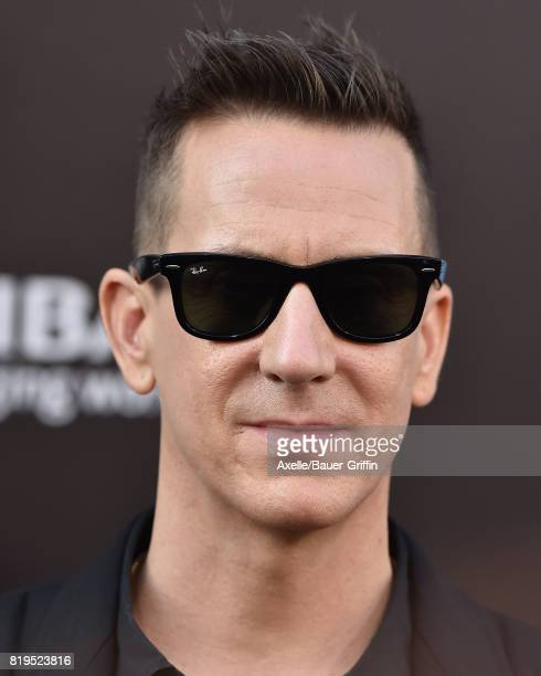 Fashion designer Jeremy Scott arrives at the Los Angeles premiere of 'Valerian and the City of a Thousand Planets' at TCL Chinese Theatre on July 17...